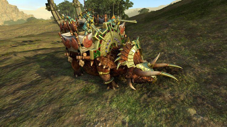Ancient Stegadon, the best Lizardmen unit in TOTAL WAR: WARHAMMER 2