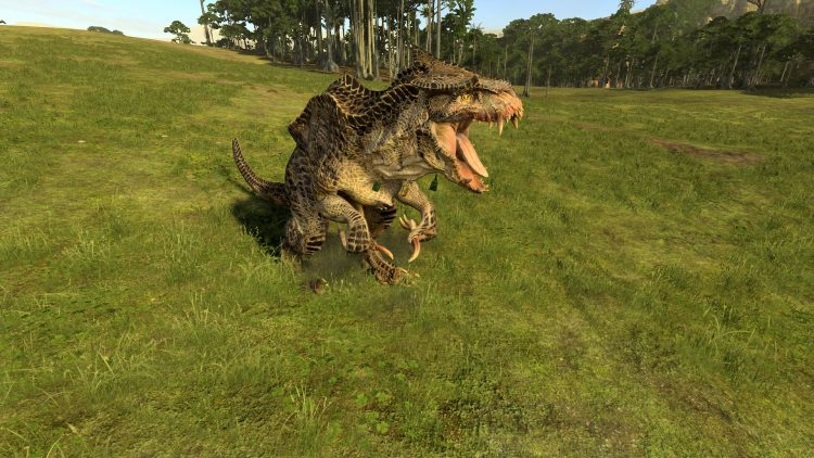 Feral Carnosaur, one of the best Lizardmen units in TOTAL WAR: WARHAMMER 2