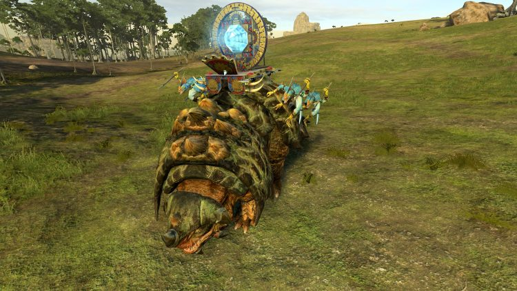 Revivification Crystal, one of the best Lizardmen units in TOTAL WAR: WARHAMMER 2