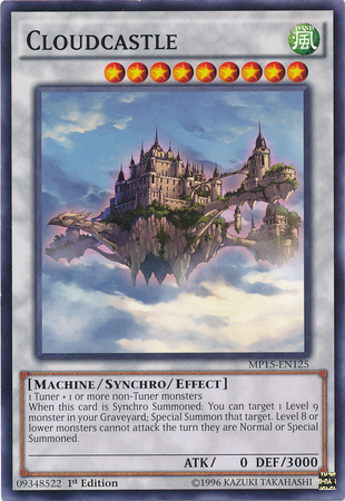 Cloudcastle, one of the best level 9 monsters in Yugioh