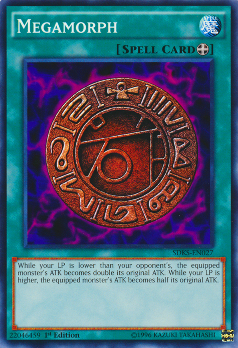 Megamorph, one of the best equip spells in Yugioh