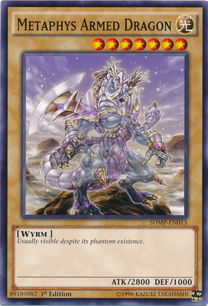 Metaphys Armed Dragon, one of the best level 7 monsters in Yugioh
