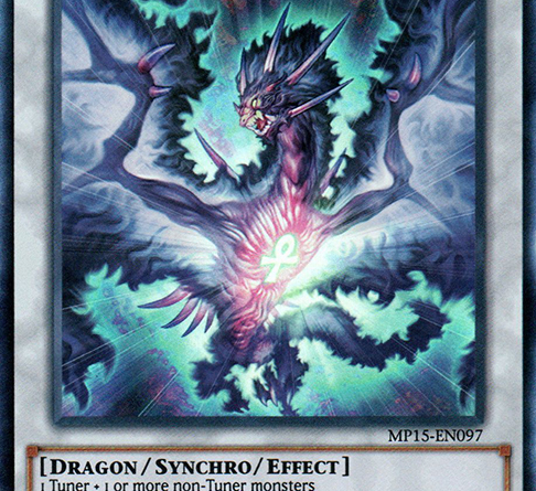 Samsara Dragon of Rebirth, one of the best level 5 monsters in Yugioh