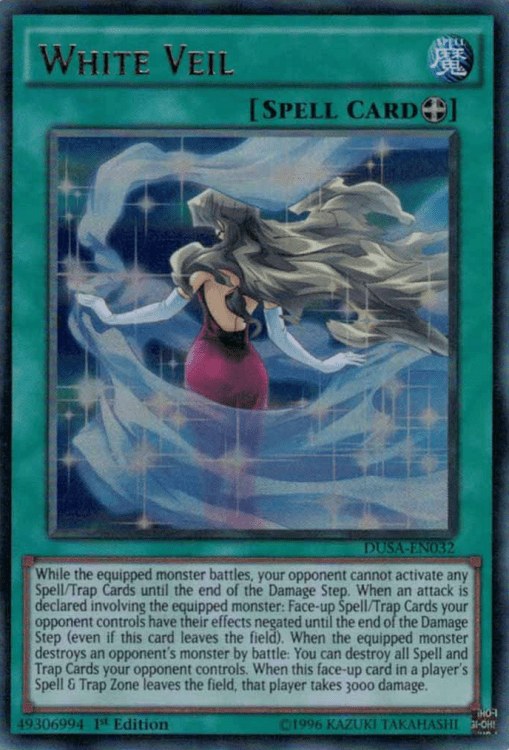White Veil, one of the best equip spells in Yugioh