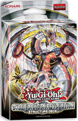 Cyber Dragon Revolution, one of the best structure decks in Yugioh