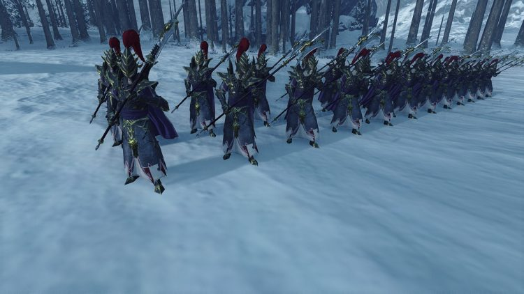 Black Guard of Naggarond, one of the best Dark Elf units in TOTAL WAR: WARHAMMER