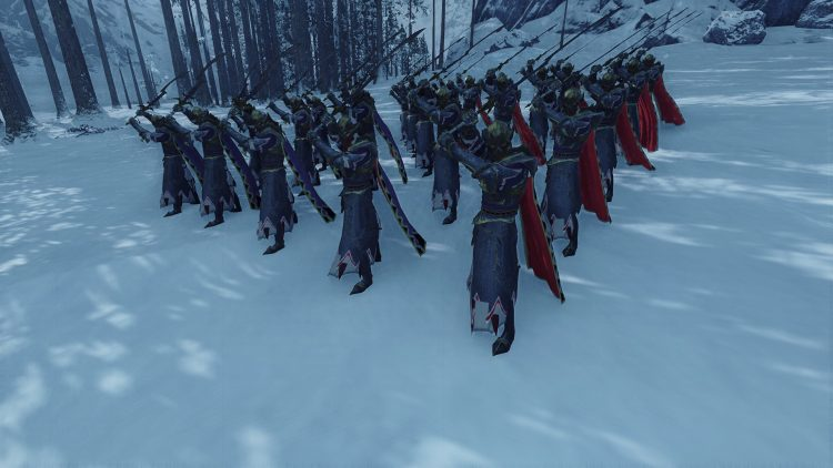 Hor Ganeth Executioners, one of the best Dark Elf units in TOTAL WAR: WARHAMMER