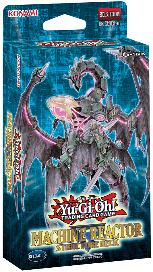 Machine Reactor, one of the best structure decks in Yugioh