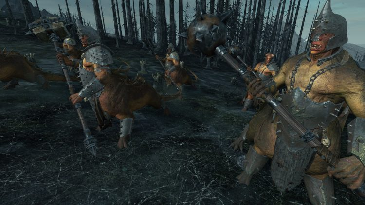 Dragon Ogres, one of the best Warriors of Chaos units in TOTAL WAR: WARHAMMER