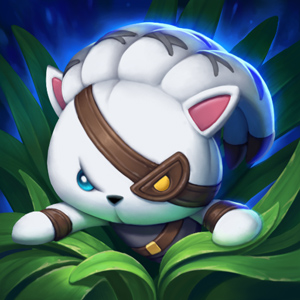 Rengar Plush In The Jungle, one of the rarest icons in League of Legends