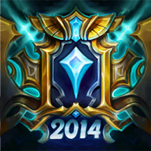 Challenger 3 Solo 2014, one of the rarest icons in League of Legends
