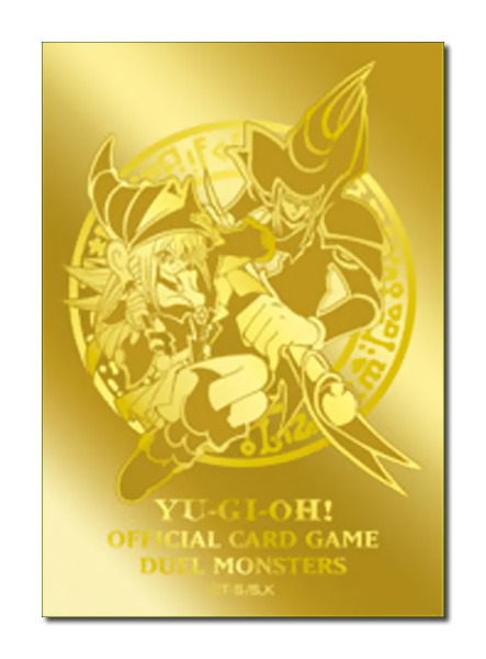 Konami official Japanese Dark Magician & Dark Magician Girl card sleeves, the best in Yugioh!