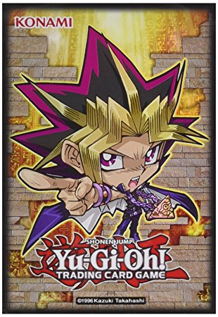 Konami chibi card sleeves, one of the best card sleeves in Yugioh