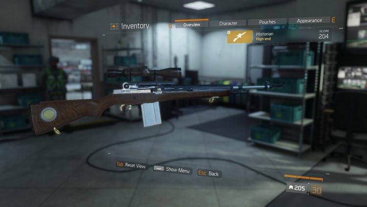 Historian, the best marksman rifle in The Division!