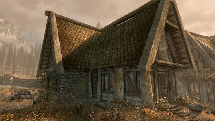 Breezehome, one of the best player homes in Skyrim