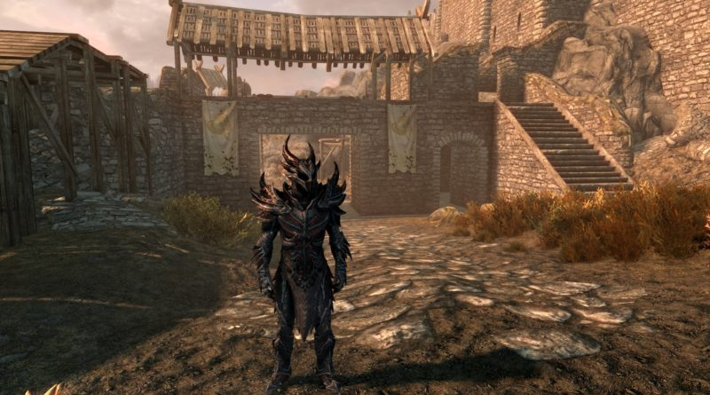 Daedric Armor, the best heavy armor set in Skyrim!