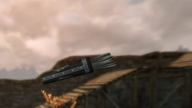 Daedric Arrows, some of the best arrows in Skyrim