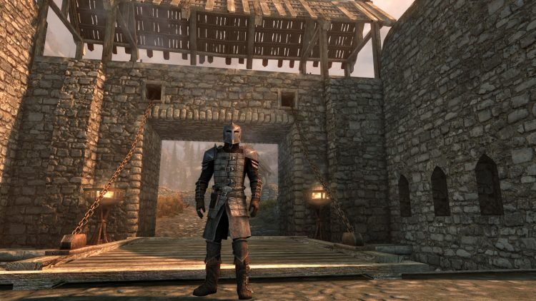 Dawnguard Heavy Armor, one of the best heavy armor sets in Skyrim