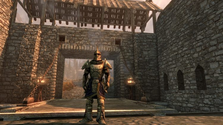 Dwarven Armor, one of the best heavy armor sets in Skyrim