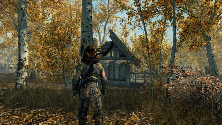 Dwarven Black Bow of Fate, one of the best bows in Skyrim