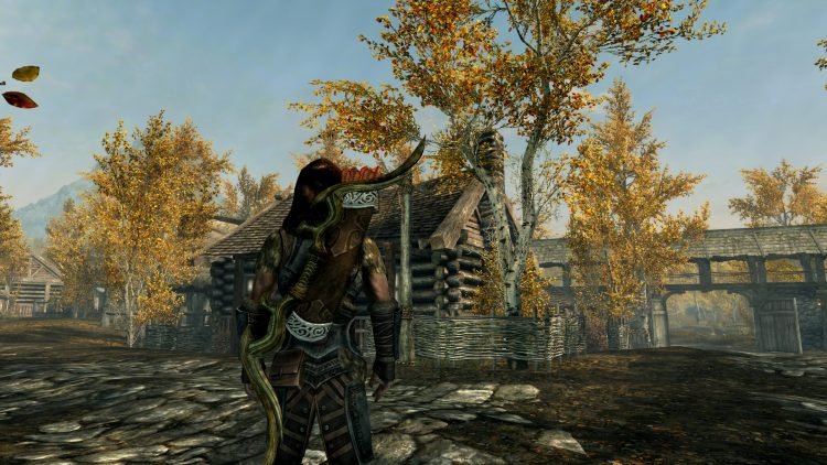 Glass Bow, one of the best bows in Skyrim