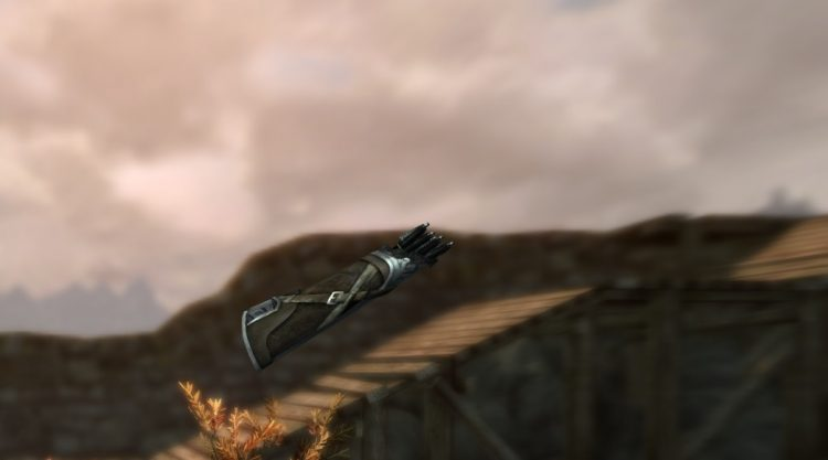 Nordic Arrows, some of the best arrows in Skyrim