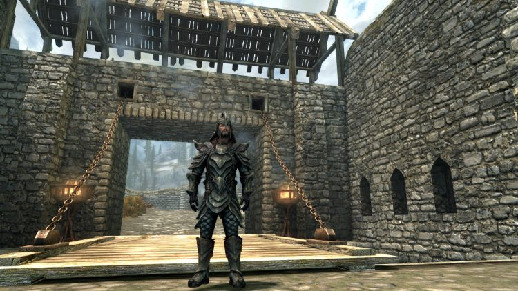Orcish Armor, one of the best heavy armor sets in Skyrim