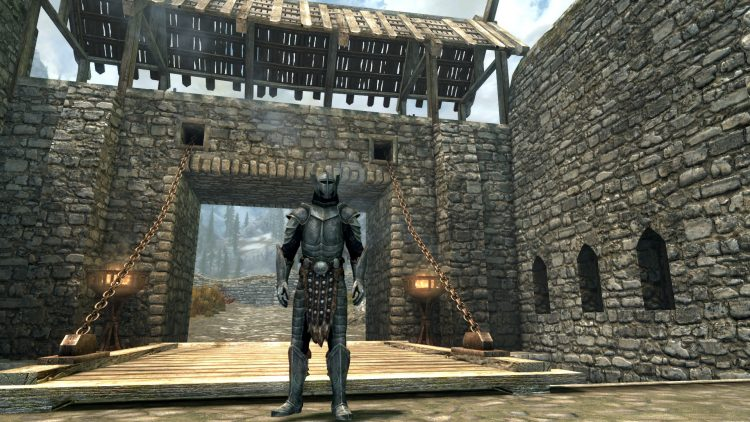 Steel Plate Armor, one of the best heavy armor sets in Skyrim