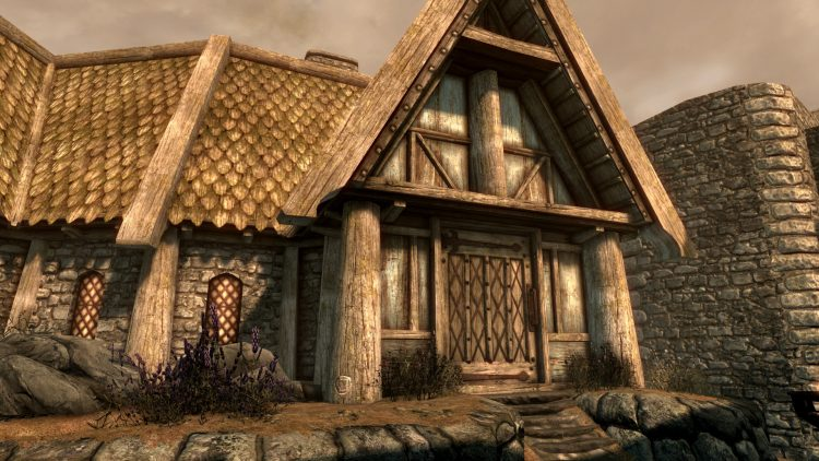 Uthgerd's House, one of the best player homes in Skyrim