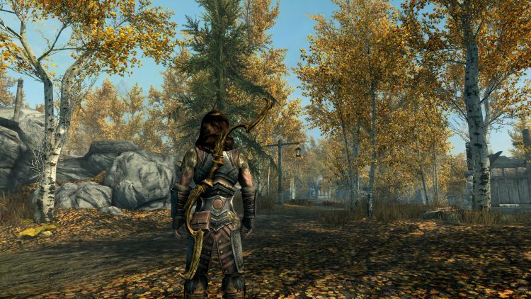 Zephyr, one of the best bows in Skyrim