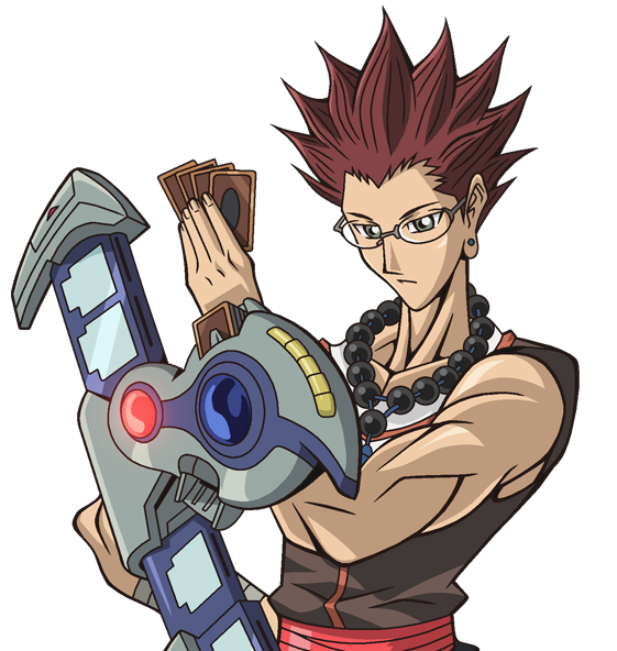 Adrian Gecko, one of the best Yugioh GX Duelists