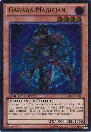 Ultimate rare, one of the best rarities in Yugioh
