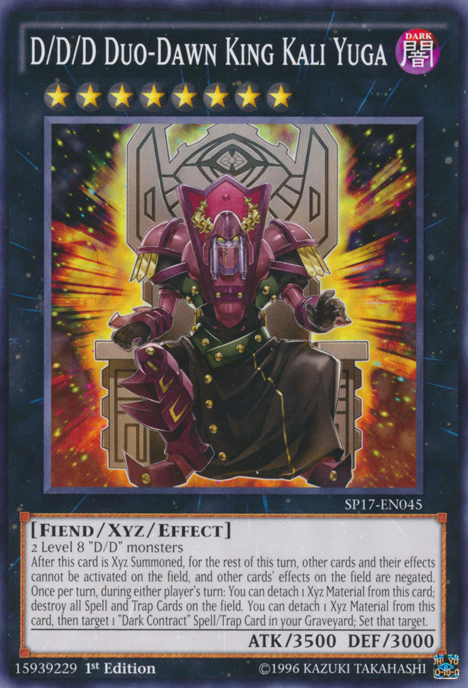 D/D, one of the best budget decks in Yugioh 2018