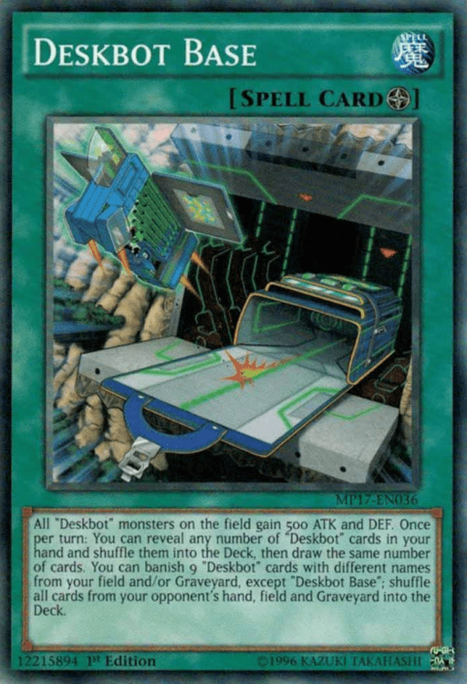 Deskbots, one of the best budget decks in Yugioh 2018