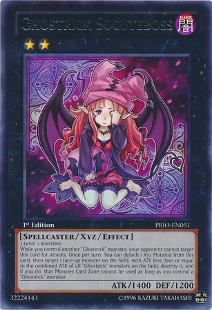 Ghostrick Socuteboss, one of the best rank 2 XYZ monsters in Yugioh