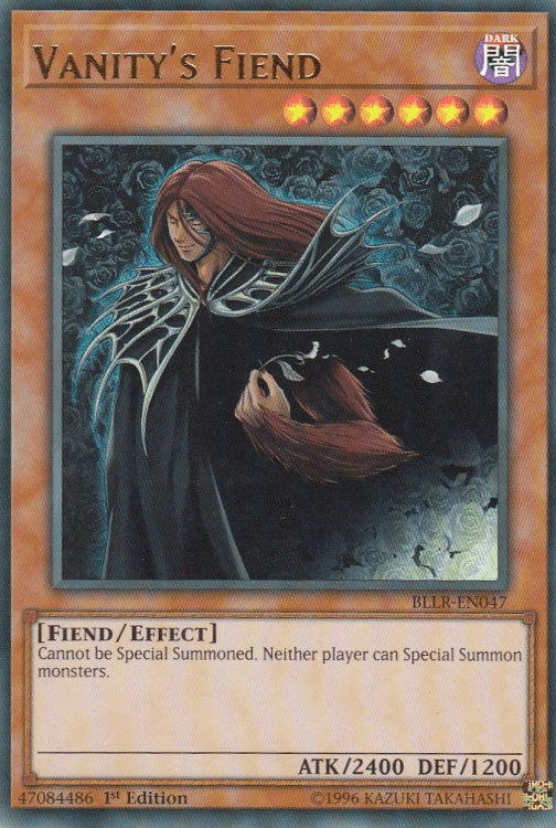 Vanity's Fiend, one of the best level 6 monsters in Yugioh