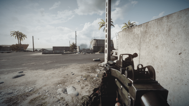 M249, one of the best guns in Battlefield 3