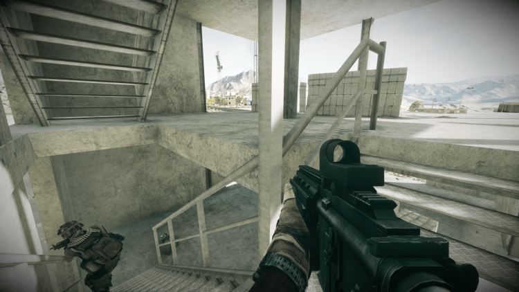 M416, one of the best guns in Battlefield 3