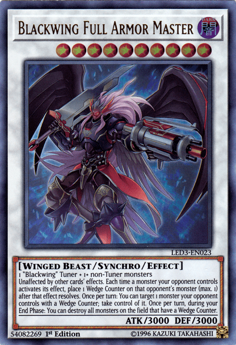 Blackwing, one of the best budget decks in Yugioh
