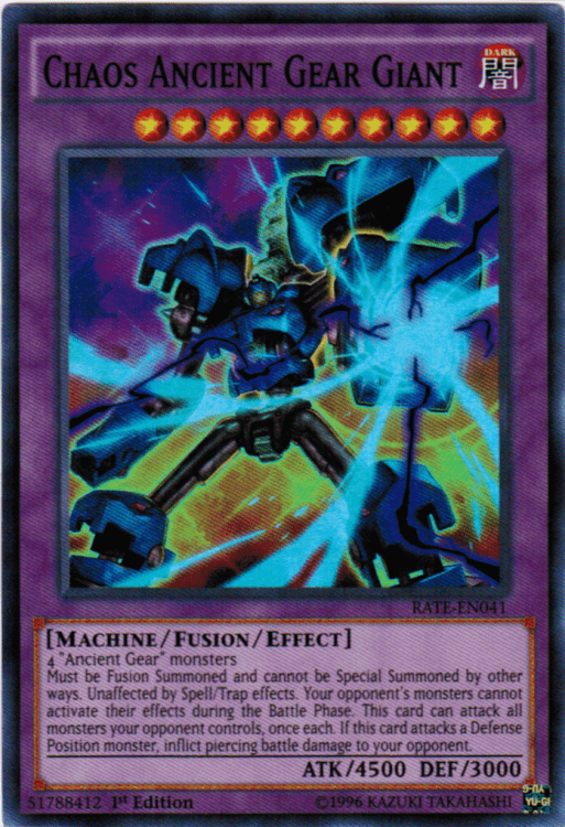 Ancient Gears, one of the best budget decks in Yugioh