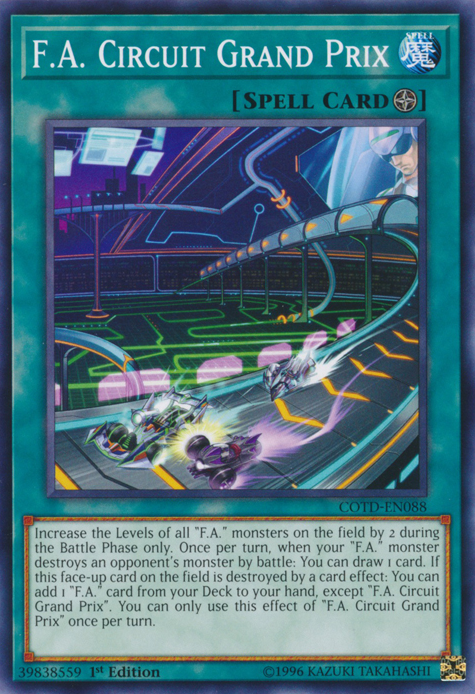 F.A., one of the best budget decks in Yugioh