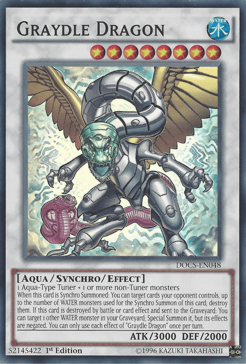 Graydle, one of the best budget decks in Yugioh