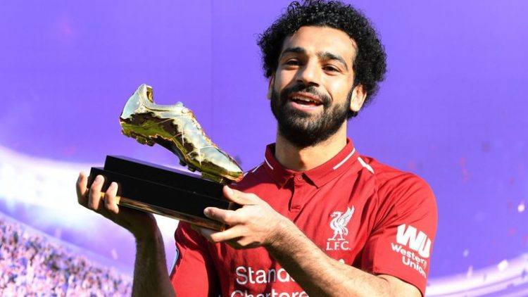 Mohamed Salah,the best Liverpool player during the 2017/18 season and possibly the best player in the world!