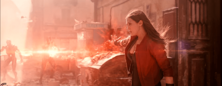 Scarlet Witch, one of the most powerful superheroes in the Marvel Cinematic Universe