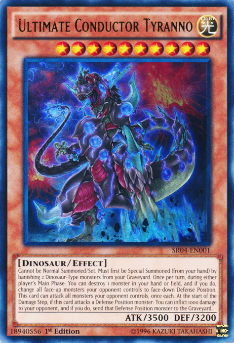 Dinosaurs, one of the best budget decks in Yugioh