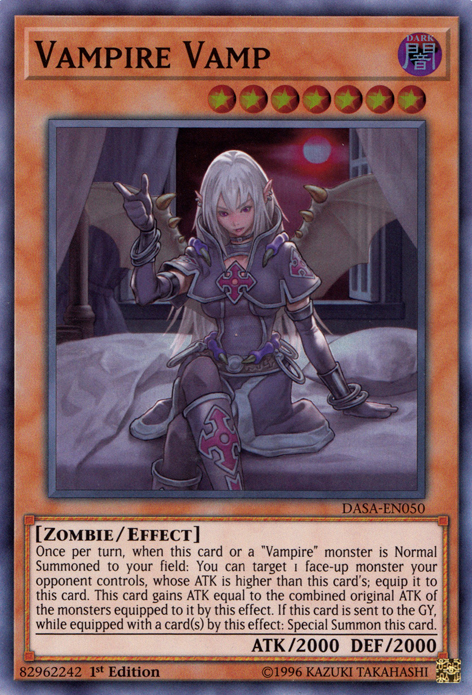 Vampire, one of the best budget decks in Yugioh