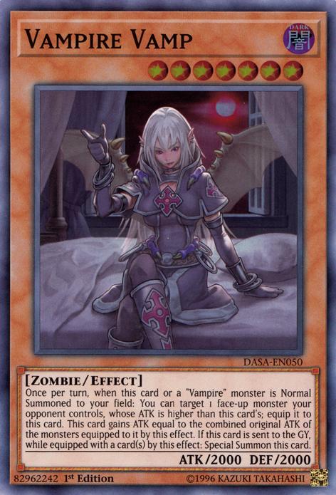 Vampire, one of the best budget decks in Yugioh