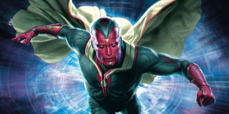 Vision, one of the most powerful superheroes in the Marvel Cinematic Universe