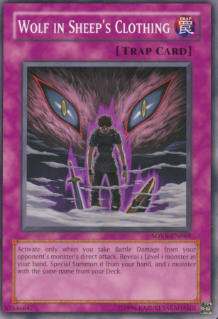 Wolf in Sheep's Clothing, one of the best Kuriboh cards in Yugioh