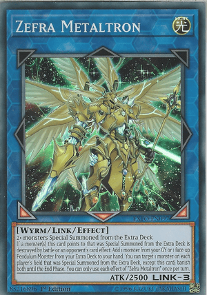 Zefra, one of the best budget decks in Yugioh